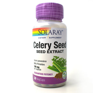 Celery Seed Extract 100mg - 30 Vegetarian Capsules
