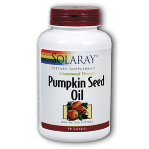 Guaranteed Potency Pumpkin Seed Oil 1000mg - 90 Softgels