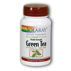 Green Tea Double Strength 500mg - 30 Capsules