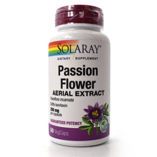 Load image into Gallery viewer, Guaranteed Potency Passion Flower Extract 250mg - 60 Vegetarian Capsules