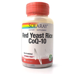 Red Yeast Rice Plus CoQ-10 - 90 Vegetarian Capsules