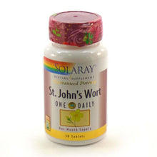Load image into Gallery viewer, Guaranteed Potency Saint John's Wort One Daily - 30 Tablets