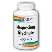 Load image into Gallery viewer, Magnesium Glycinate 400mg - 120 Capsules