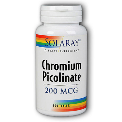 Chromium Picolinate 200mcg- 200 Tablets