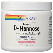 Load image into Gallery viewer, D-Mannose with CranActin - Lemon Berry Flavor - 7.6 oz