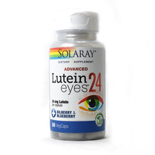 Load image into Gallery viewer, Lutein Eyes Advanced 24mg - 60 Vegetarian Capsules