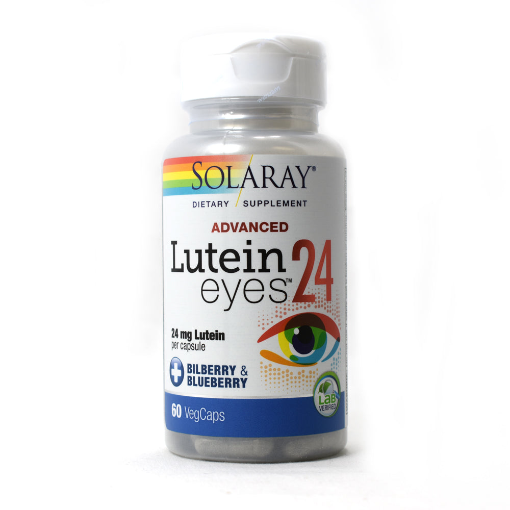 Lutein Eyes Advanced 24mg - 60 Vegetarian Capsules