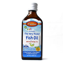 Load image into Gallery viewer, For Kids The Very Finest Norwegian Fish Oil Great Orange Taste - 6.7 oz.