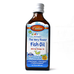 For Kids The Very Finest Norwegian Fish Oil Great Orange Taste - 6.7 oz.