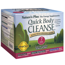 Load image into Gallery viewer, Nature's Plus Quick Body Cleanse 3 Part System - 7 Day Program