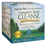 Nature's Plus Complete Body Cleanse 3 Part System - 14 Day Program