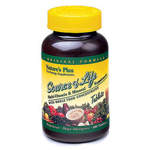 Load image into Gallery viewer, Source Of Life Multi-Vitamin & Mineral with Whole Food Concentrates - 180 Tablets