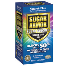 Load image into Gallery viewer, Sugar Armor Sugar Blocker Weight Loss Aid - 60 Vegetarian Capsules