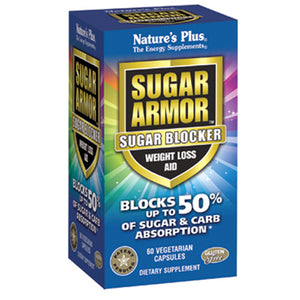 Sugar Armor Sugar Blocker Weight Loss Aid - 60 Vegetarian Capsules