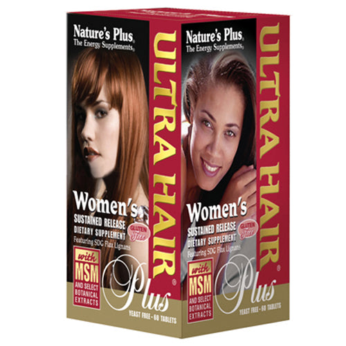 Women's Ultra Hair Plus with MSM Sustained Release Tablets - 60 Tablets