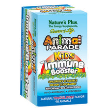 Load image into Gallery viewer, Animal Parade Kids Chewable Immune Booster Berry Flavor - 90 Chewable Tablets