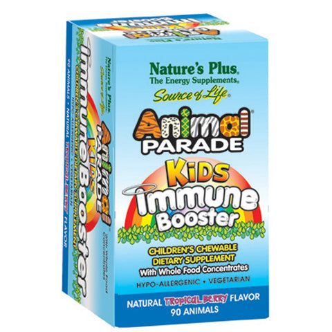 Animal Parade Kids Chewable Immune Booster Berry Flavor - 90 Chewable Tablets
