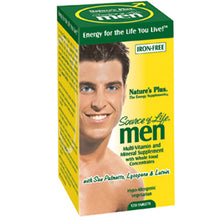 Load image into Gallery viewer, Source of Life Men Iron-Free - 120 Tablets