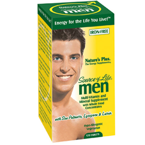 Source of Life Men Iron-Free - 120 Tablets