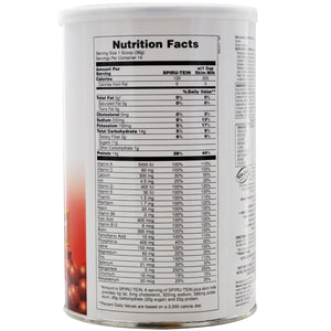 Spiru-Tein High Protein Energy Meal Exotic Red Fruit - 1.1 lb