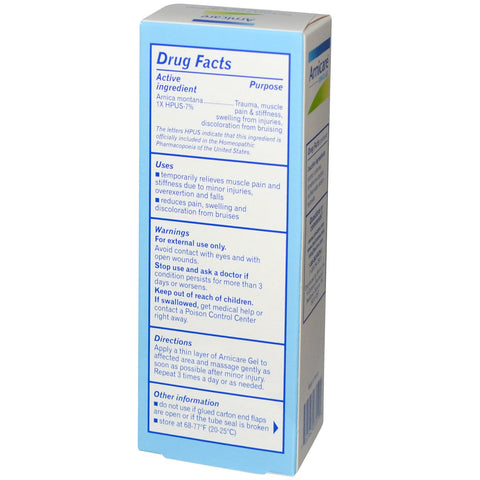 Arnicare Arnica Gel Pain Relief - 2.5 oz