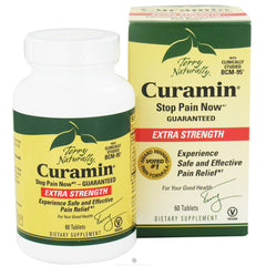 Terry Naturally Curamin Extra Strength with BCM-95 - 60 Tablets