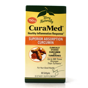 Terry Naturally CuraMed Superior Absorption Curcumin - 60 Softgels