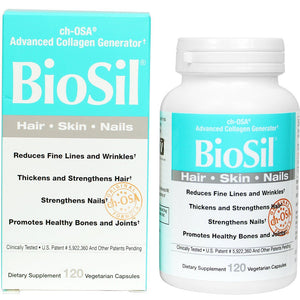 BioSil cH-OSA Advanced Collagen Generator 5 mg - 120 Vegetarian Capsules