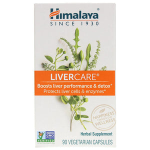 LiverCare for Maintaining Liver Health - 90 Vegetarian Capsules