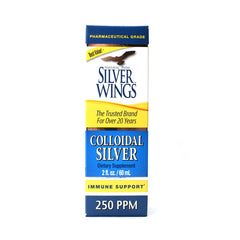 Silver Wings Colloidal Silver 250 Ppm - 2 oz