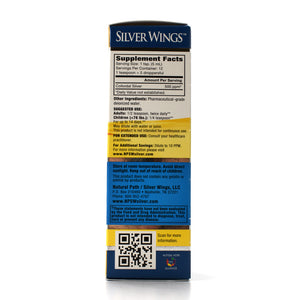 Silver Wings Colloidal Silver 500 ppm - 2 oz