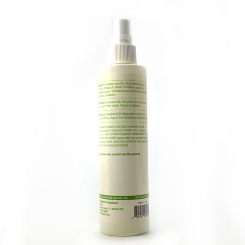 Magnesium Oil Spray With Aloe Vera - 8 oz