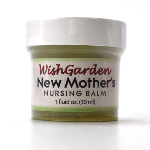 WishGarden Herbs — New Mother's Nursing Balm for Nursing Mothers — 2 oz