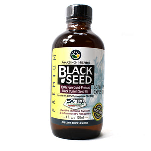 Premium Black Seed Cold-Pressed Oil - 4 Ounce