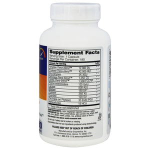 Digest Complete Enzyme Formula - 180 Capsules