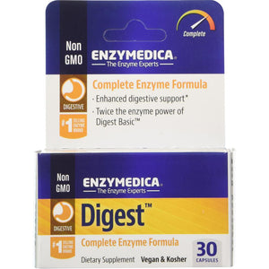Digest Complete Enzyme Formula - 30 Capsules