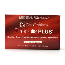 Load image into Gallery viewer, Dr. Ohhira's Propolis PLUS Brazilian Green Propolis - 60 Capsules