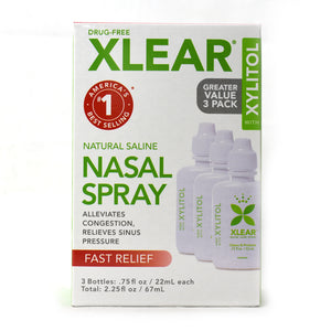 Nasal Wash Saline with Xylitol - 3 Packs