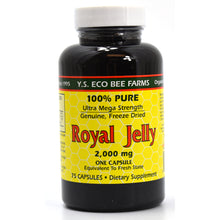Load image into Gallery viewer, Royal Jelly Caps 2000 mg - 75 Capsules