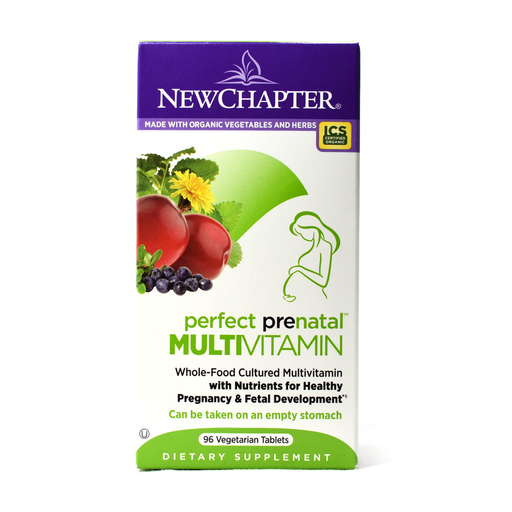 Perfect Prenatal Multivitamin - 96 Vegetarian  Tablets