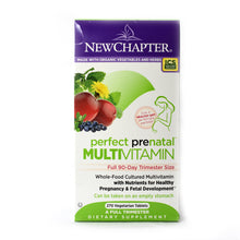 Load image into Gallery viewer, Perfect Prenatal Multivitamin - 270 Vegetarian Tablets