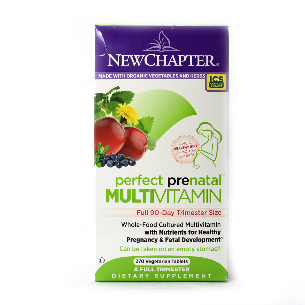 Perfect Prenatal Multivitamin - 270 Vegetarian Tablets
