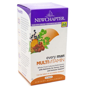 Every Man's Multivitamin - 72 Tablets