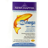 Wholemega Tiny Caps Extra-Virgin Wild Alaskan Salmon Whole Fish Oil - 90 Softgels