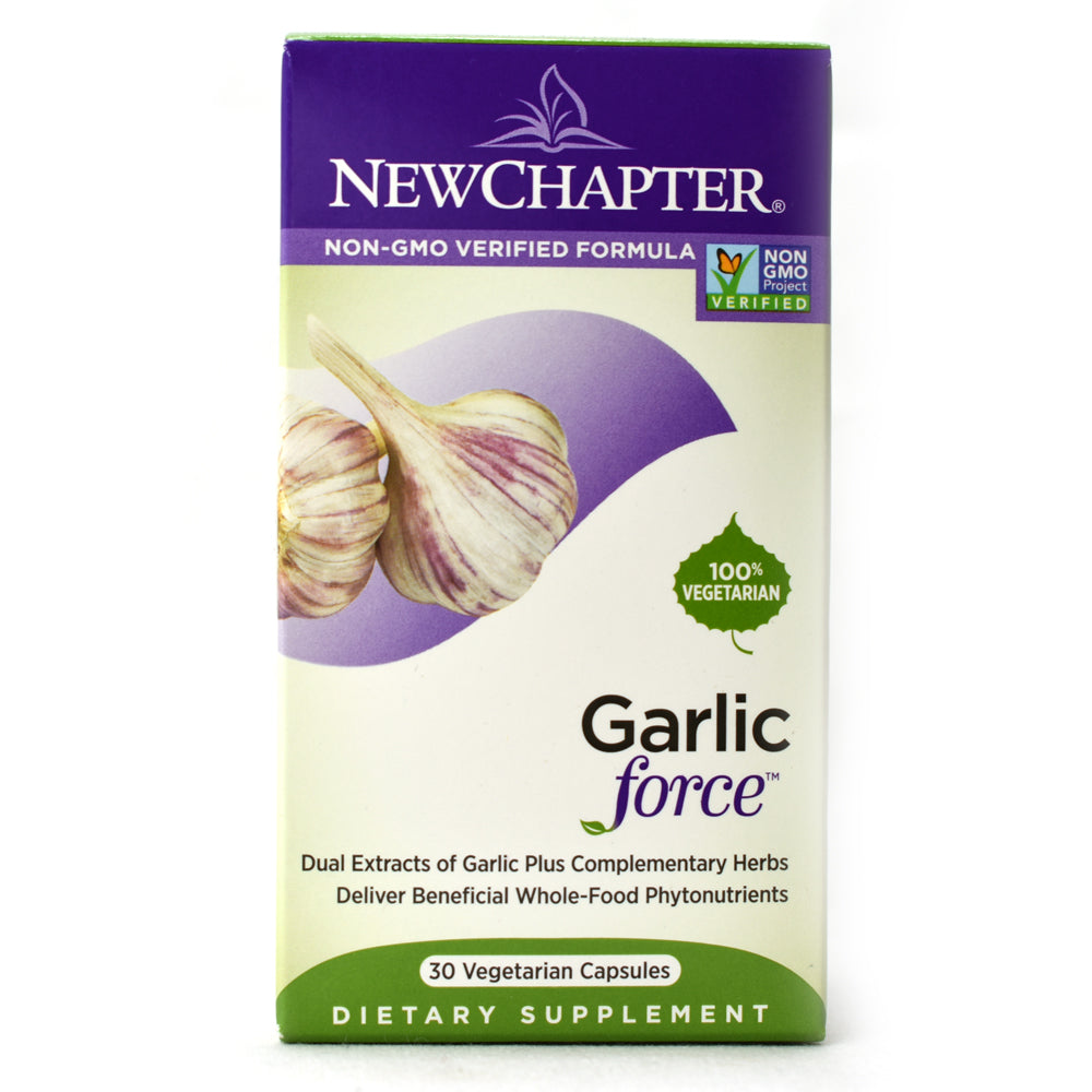 Garlic Force - 30 Vegetarian Capsules