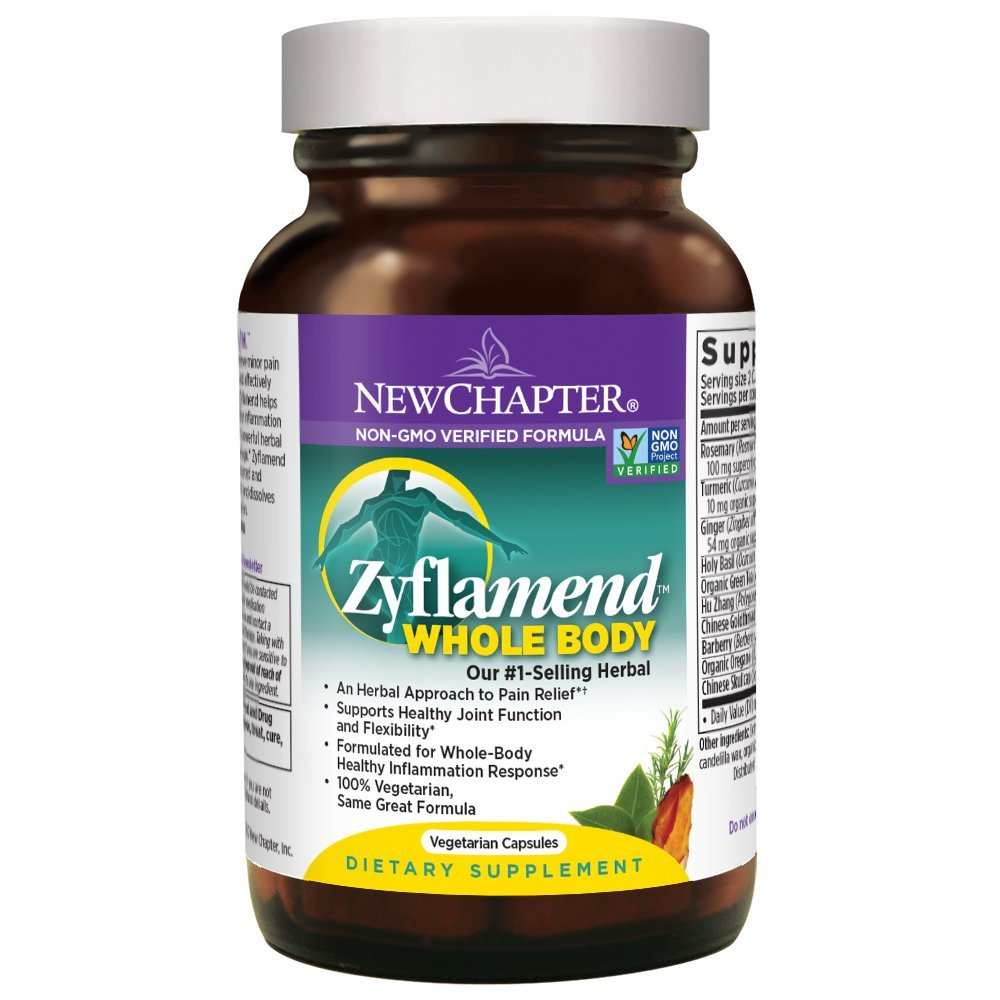 Zyflamend Whole Body - 60 Vegetarian Capsules
