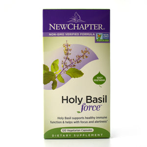Holy Basil Force - 120 Liquid Vegetarian Capsules