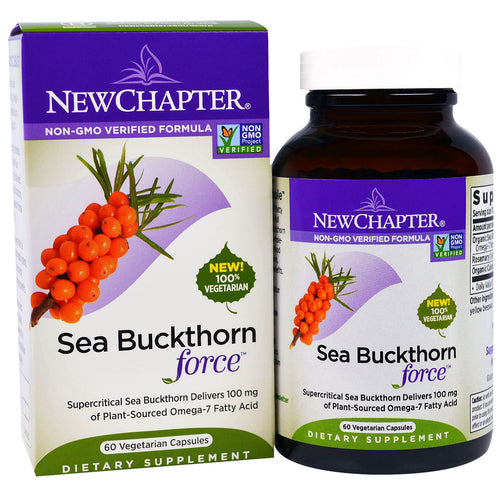 Sea Buckthorn Force - 60 Vegetarian Capsules