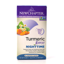 Load image into Gallery viewer, Turmeric Force Nighttime - 60 Vegetarian Capsules