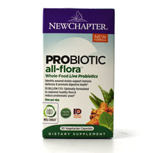 Load image into Gallery viewer, Probiotic All-Flora Whole-Food Live Probiotics - 30 Vegetarian Capsules